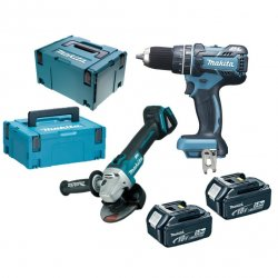 MAKITA DLX2126TJ1 - Akumulatorski set orodja
